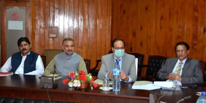 meeting of Standing Committee of AJ&K Legislative Assembly
